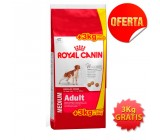 .Royal Canin Medium Adulto 15Kg + 3kg gratis