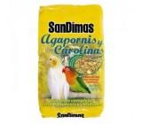 Mixturas Agapornis y Carolinas 1kg