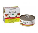Schesir Dog Filete de Pollo y Manzana 150grs