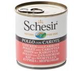 Schesir Frango Com Cenouras Para Cães 285grs