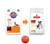 .Hill´s Canine Adult Light con pollo  12kg + 2,5kg