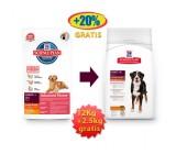 Hill's Canine Adult Razas Grandes con Pollo 12+2,5Kg Gratis