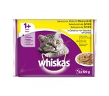 Whiskas Poultry Seleção 1+ Gelatina para Gatos