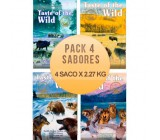 Taste of the wild - Pack 4 Sabores