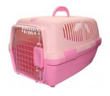 Trasportin rosa para cães e gatos