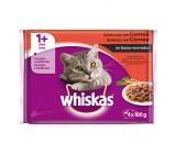 Whiskas 1+ Molho de Carne Selecção para Gatos