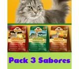 Wildcat Pack 3 Sabores