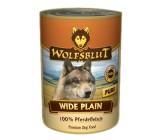 Wolfsblut Wide Plain 100% Carne Caballo Lata395Grs