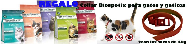 Regalo Collar Biospotix Arden Grage